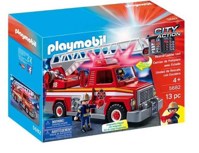 רכב לוחמי אש+סולם פליימוביל 5682