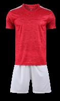 חליפת כדורגל אדום לבן