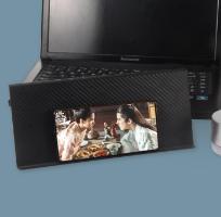 מדף מתכוונן למחשב ולטלוויזיה