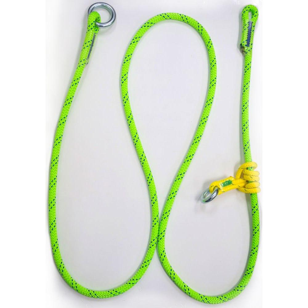 קמביום סיוור מתכוונן-Rope Logic's Adjustable Friction Saver 5/8in KMIII Green