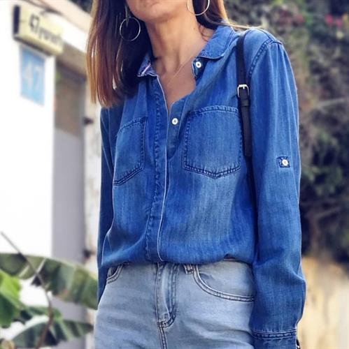 חולצת ג׳ינס מילאן