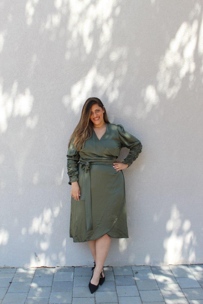 שמלת ורה ירוקה