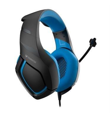 אוזניות גיימינג SPARKFOX K1 בצבע כחול