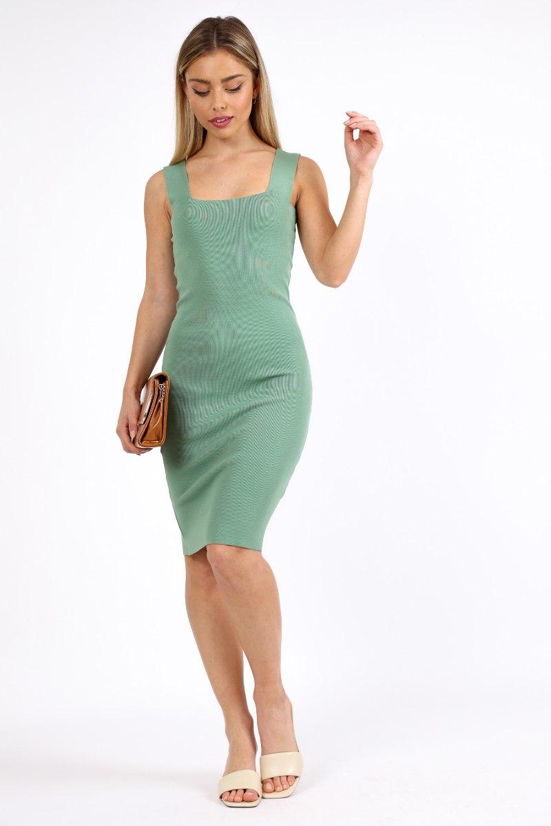 שמלה  לין ירוקה