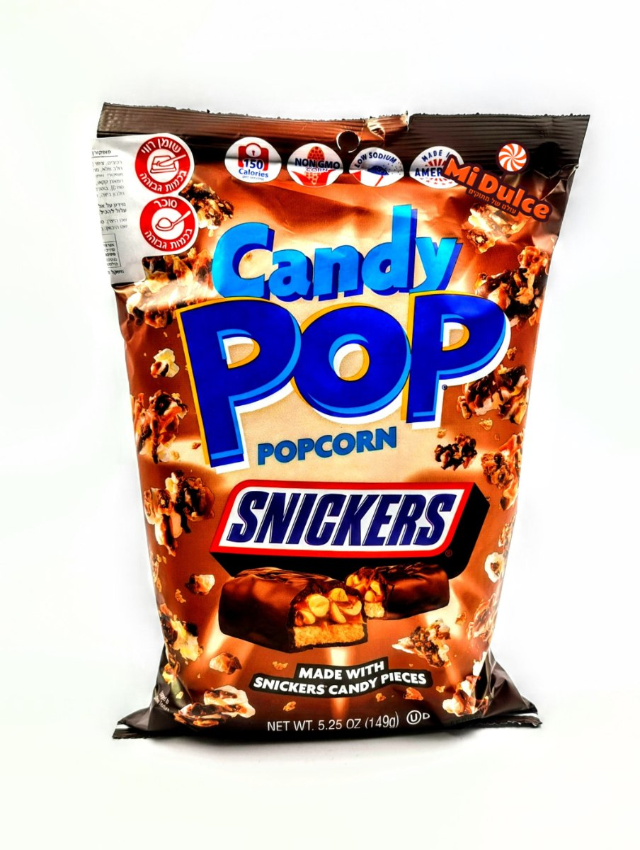 פופקורן Snickers,מארז ענק!!