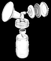 ערכה לאיסוף חלב שאוב של Spectra - (28 ממ + 24 ממ)