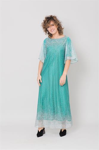 שמלת שלג כנפיים ירוקה