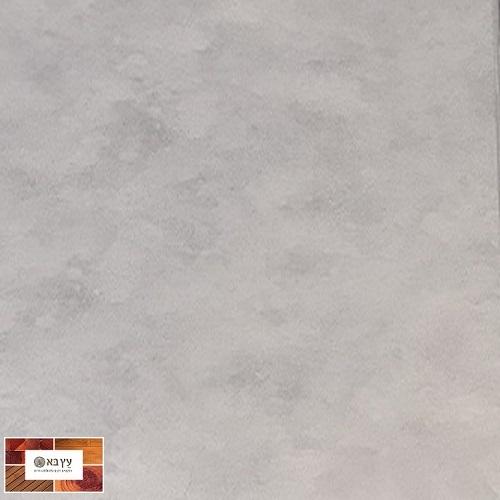 פרקט פולימרי סטון SPC FLOOR STONE עמיד במים במראה בטון אפור חלק דגם 48008-25