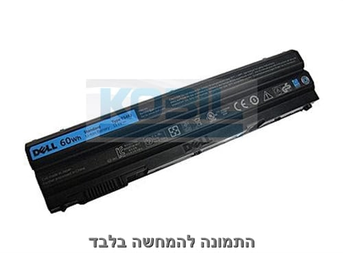 סוללה מקורית למחשב נייד דל Dell Latitude E6420 XFR