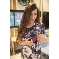 שמלת הנקה אפרת - מבית Imahot