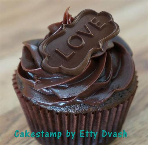 תבנית LOVE אהבה - 4 יחידות - ליצירת בשוקולד