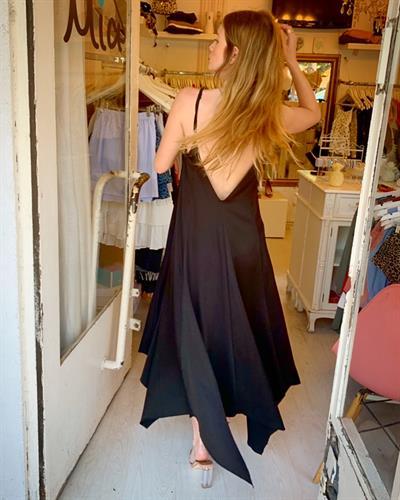 שמלת ליאל - שחור