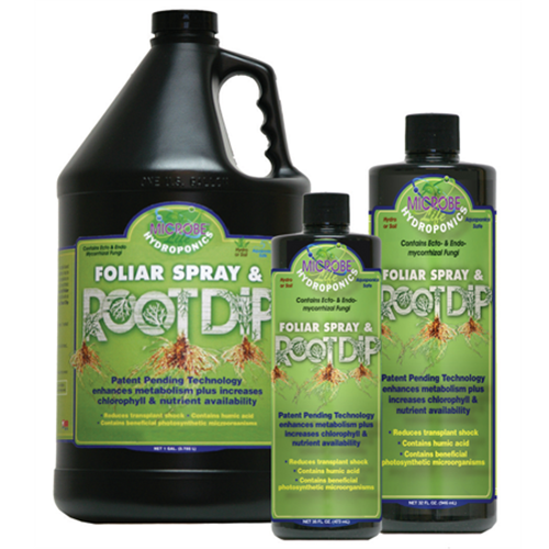 "מאיץ שורשים 500 מ""ל MicrobeLife Hydroponics Foliar Spray & Root Dip"