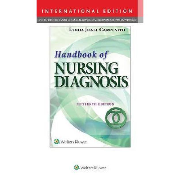 Handbook of Nursing Diagnosis : Application to Clinical Practice