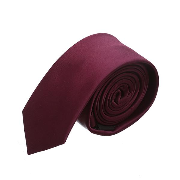 עניבה חלקה בורדו