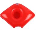 שפתיים אדומות - 4 יחידות מחזיקי כוסות במבחר צורות