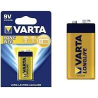 סוללות אלקליין VARTA 9V כמות 10 יחידות