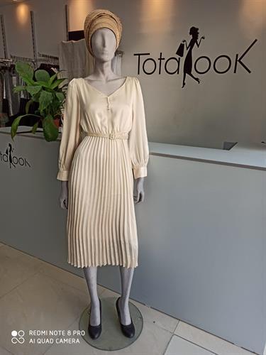 שמלת אמרלד קרם