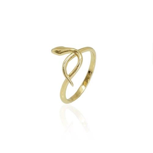 טבעת נחש זהב
