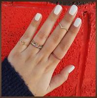 טבעת איטרניטי │ טבעת מידי │ טבעת משובצת משלימה │ טבעת נצח משובצת
