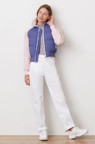 מעיל FILA כחול ורוד