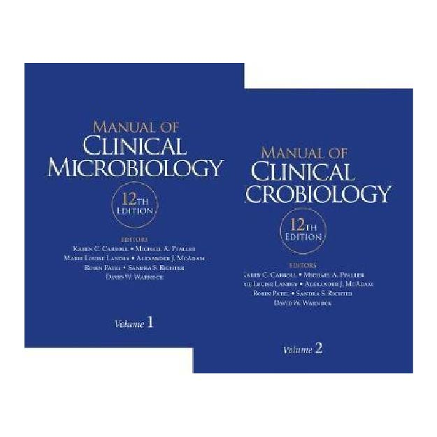 Manual of Clinical Microbiology : Twelfth Edition