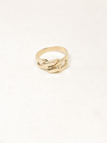 טבעת מונה זהב 14 קראט
