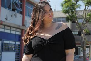 שמלת אוסקר לורקס שחור