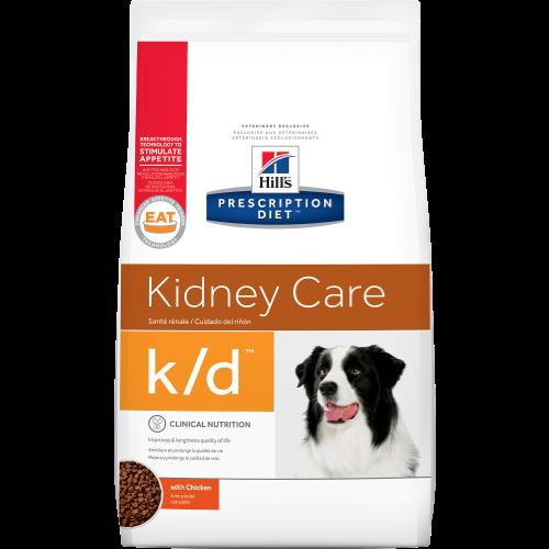 """מזון רפואי יבש K\D הילס 12 ק""""ג - Hill's Prescription Diet K\D 12KG"""