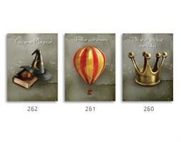 סט של 3 תמונות השראה מעוצבות לתינוקות, לסלון, חדר שינה, מטבח, ילדים - תמונות השראה  038