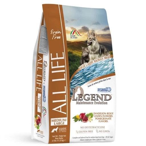 """לג'נד ALS מייטננס 11.33 ק""""ג מזון יבש לכלבים"""