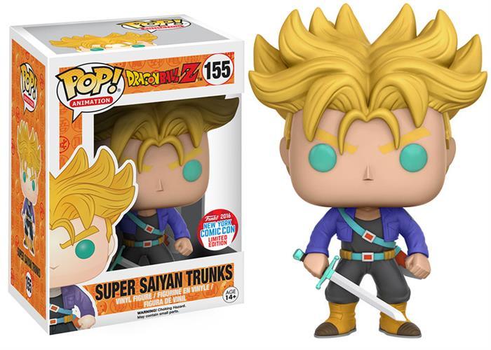 בובת פופ -  Super Saiyan Trunks