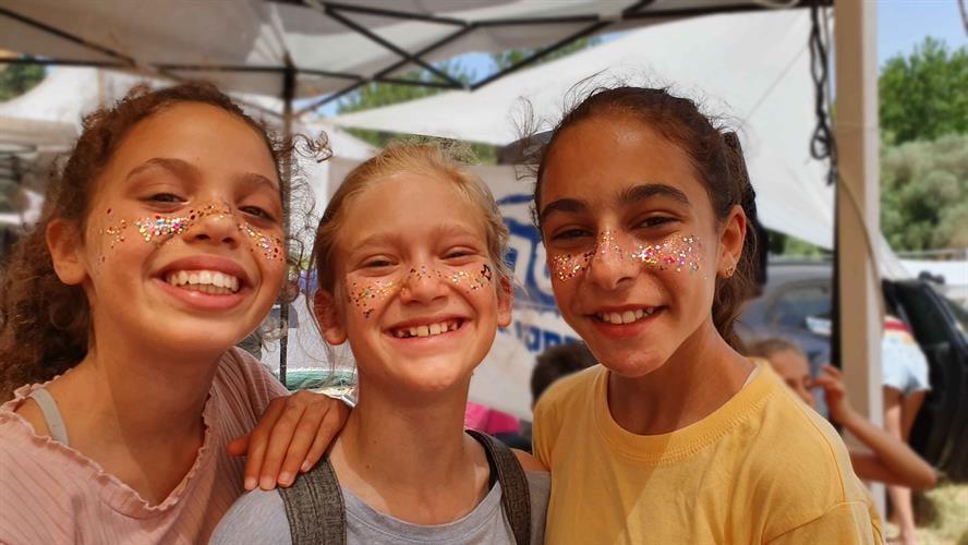 נצנצים נמשים freckles glitter