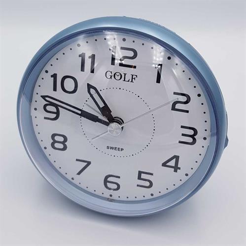 שעון מעורר גולף שקט עם תאורה