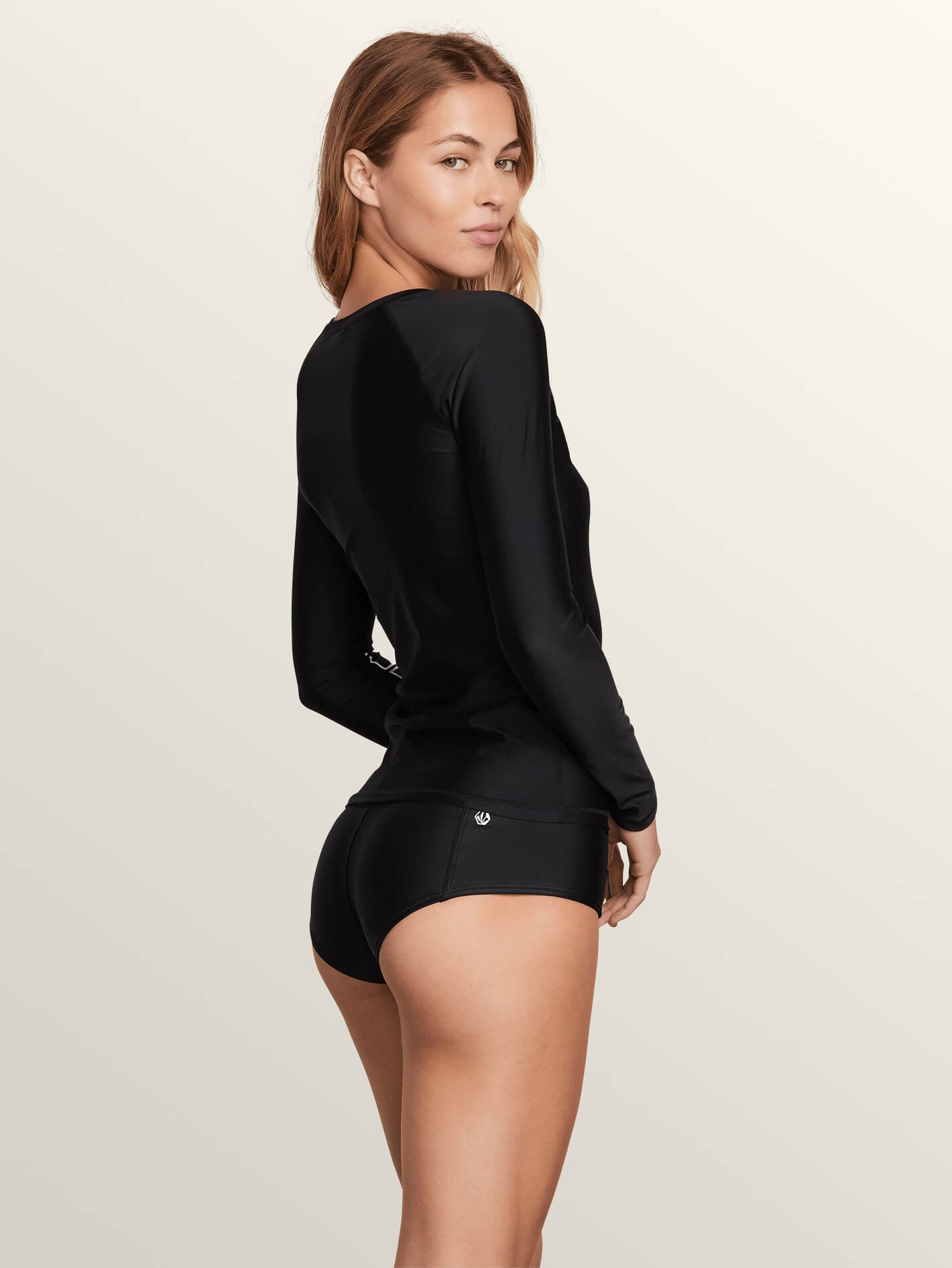 VOLCOM WMNS SIMPLY SOLID LS