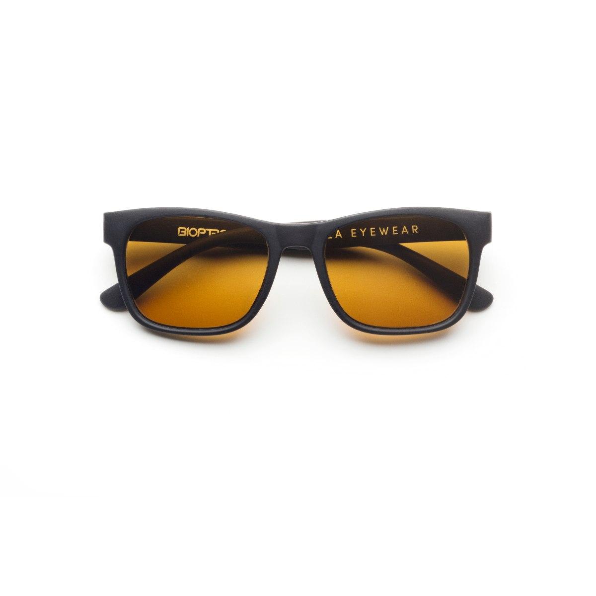 משקפי היפרלייט (נגד קרינה) לילדים, דגם -0401BK מסגרת שחורה
