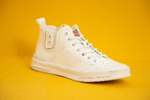 סניקרס טבעוני טראק גבוה Trak Sneakers High Top 144038