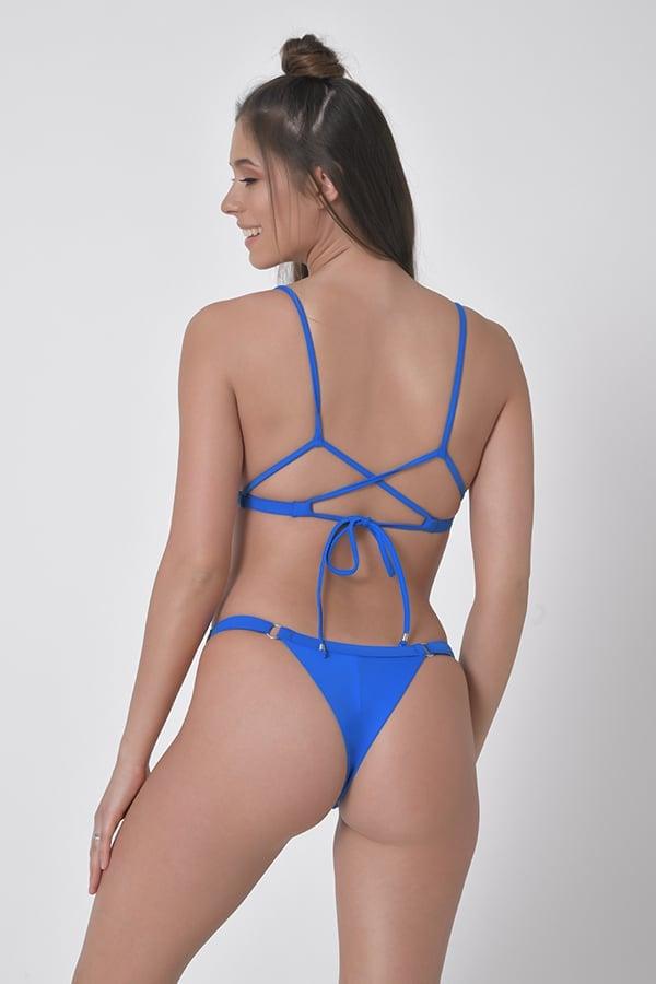בגד ים ביקיני ברזילאי רויאל - טופ איקס / תחתון בגד ים מתכוונן
