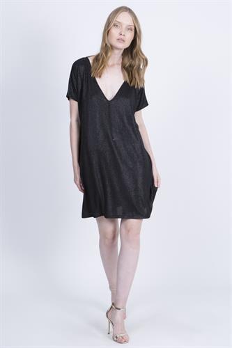 שמלת טארה שחורה