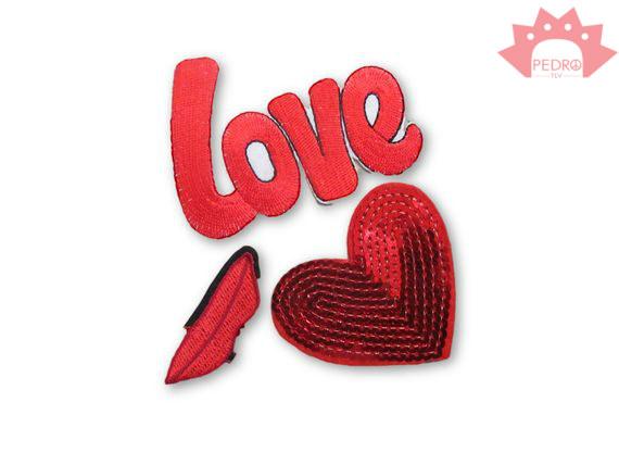 אפליקציות אופנתיות - פאטצ'ים של אהבה