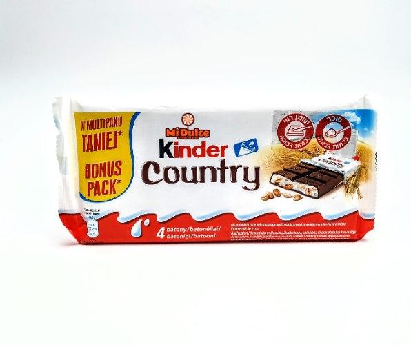 Kinder Country,מארז רביעייה!