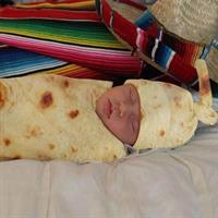 שמיכת טורטיה לתינוק