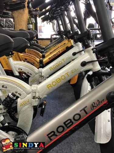 """אופניים חשמליים ROBOT 48V שיכוך מלא (70קמ""""ש)"""