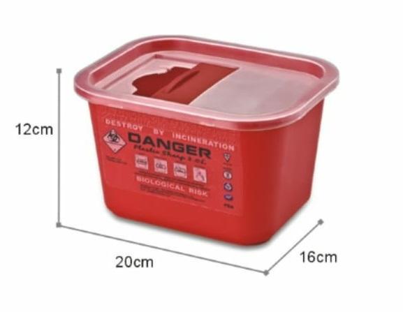 פח מחטים 2 ליטר