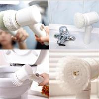 מברשת כף יד חשמלית לניקוי משטחי קרמיקה, אמבטיה וכיור רחצה