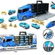 משאית עם רכבים גדולה