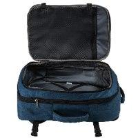 תיק גב מתרחב עליה למטוס CABIN MAX UPPSALA 55x40x20 - צבע כחול