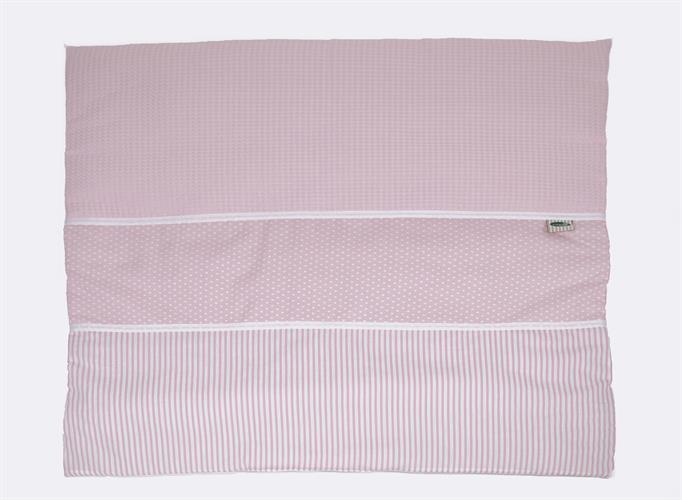 שמיכה למיטה פיקה ורוד