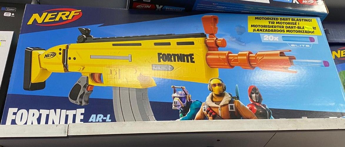 רובה פורטנייט צהוב