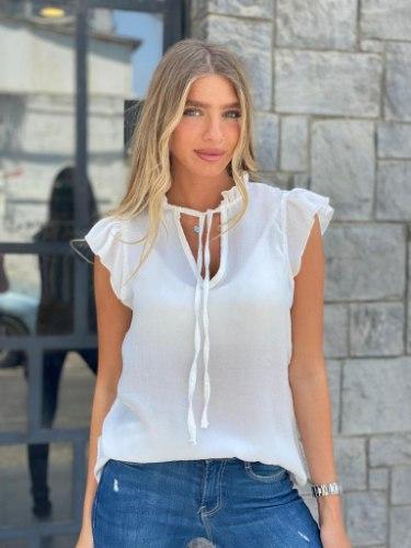 חולצת ברצלונה לבן THOMAS